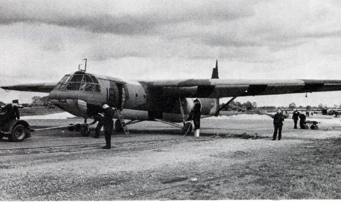 Horsa being readied for flight